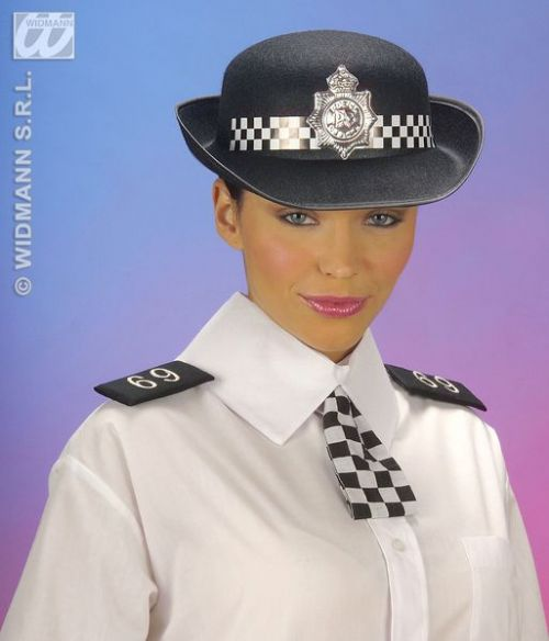 Adult Policewoman Set Costume Cop Detective Policeman Law Officer Fancy Dress Outfit